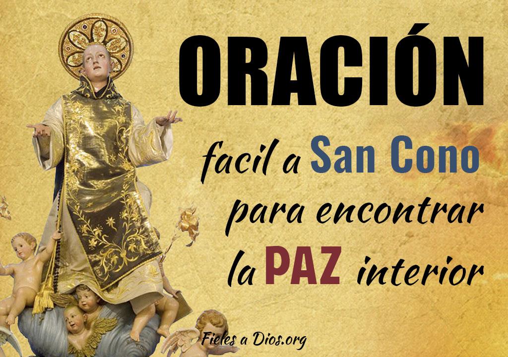 Oración fácil a San Cono para encontrar la paz interior