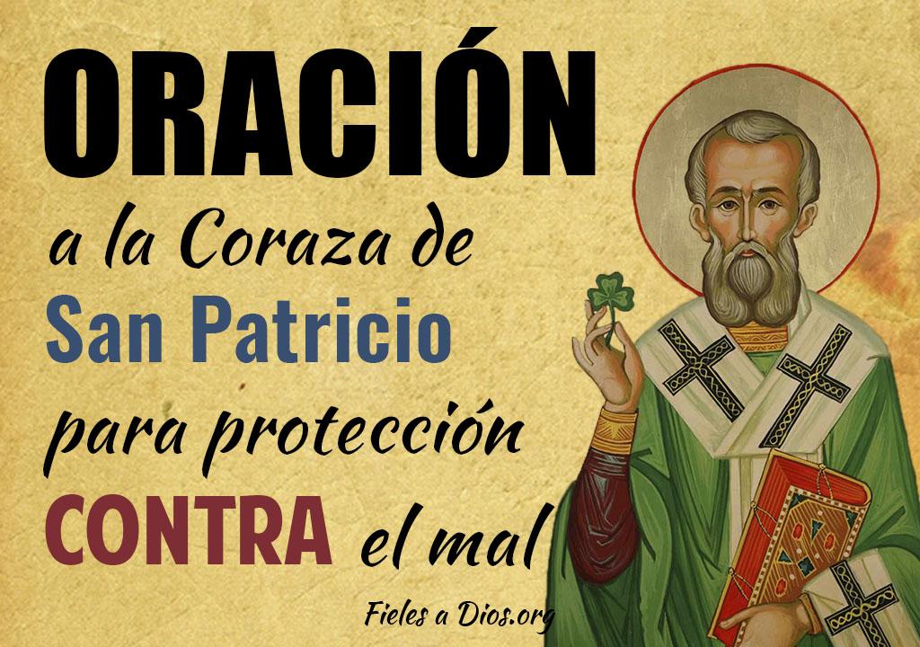 Oración a la coraza de San Patricio para protección contra el mal