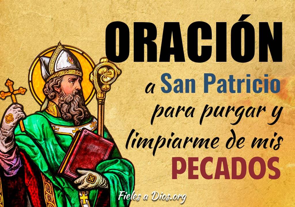 oracion a san patricio para purgar y limpiarme de los pecados