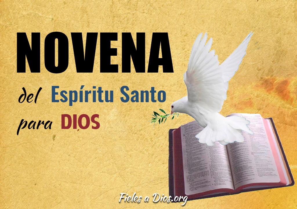 Novena del Espíritu Santo para Dios