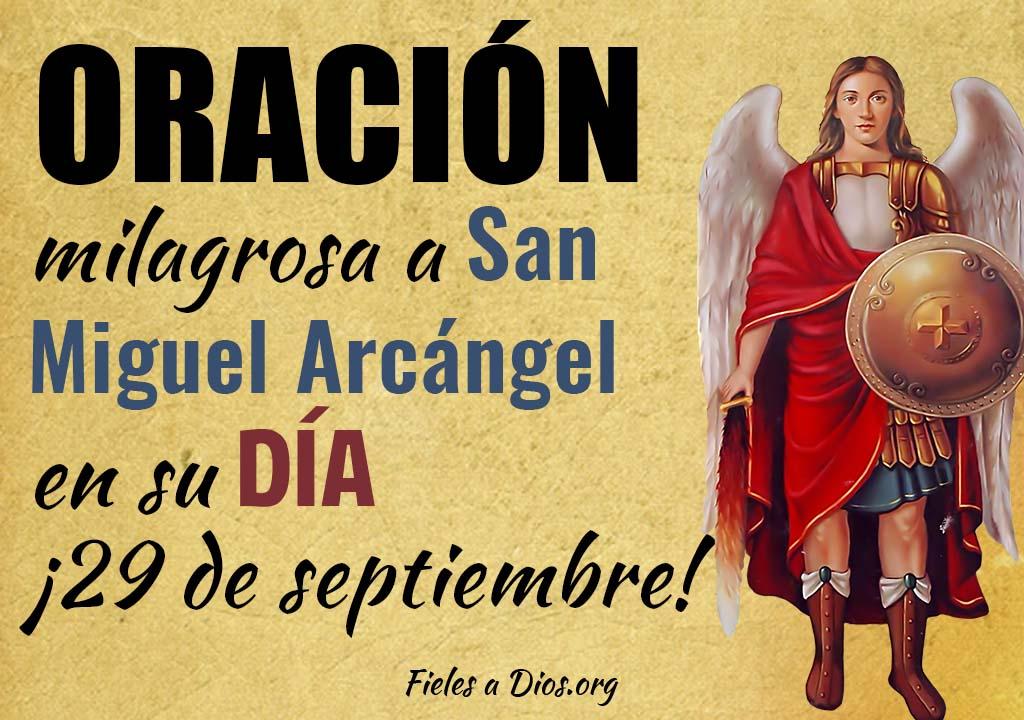 Oración milagrosa a San Miguel Arcángel en su día ¡29 de septiembre!