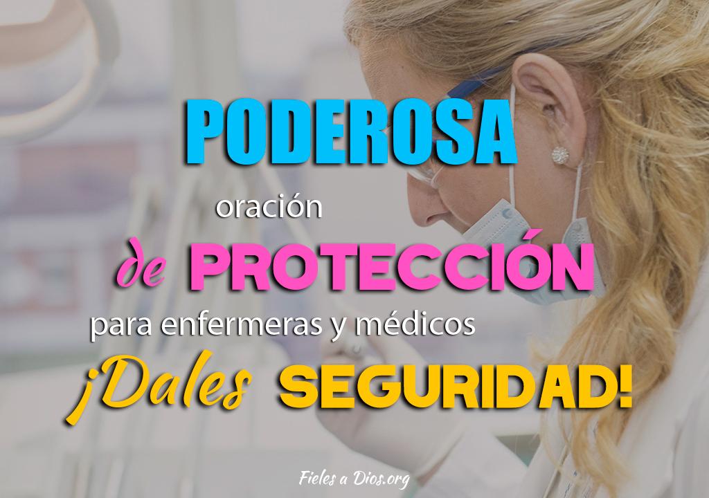 Poderosa oración de protección para enfermeras y médicos ¡Dales seguridad!