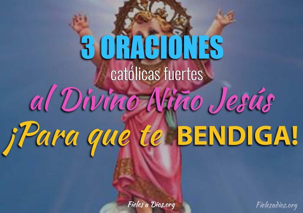 3 Oraciones católicas fuertes al Divino Niño Jesús ¡Para que te bendiga!