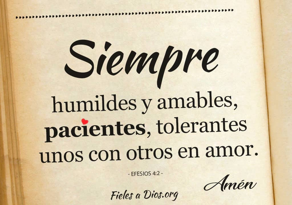siempre humildes amables