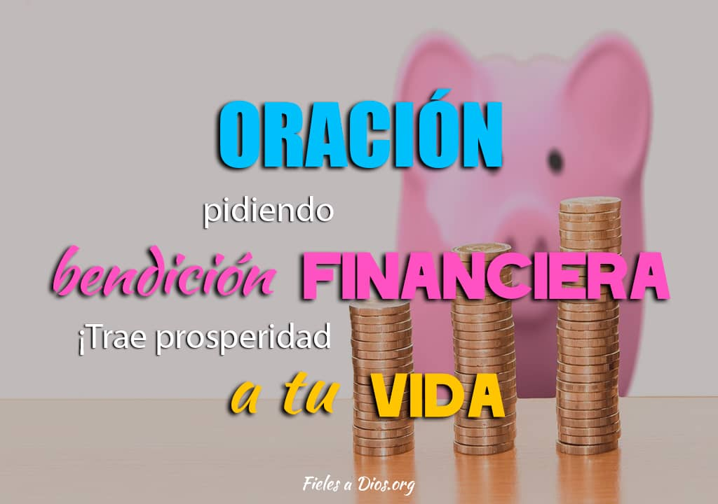 oracion bendecir vida financiera